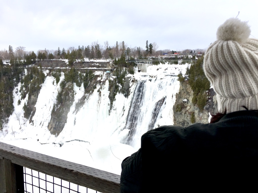 View of Montmorency Falls