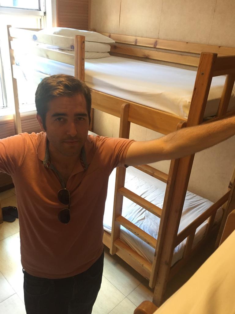 Adam at the Hantang Inn Hostel.