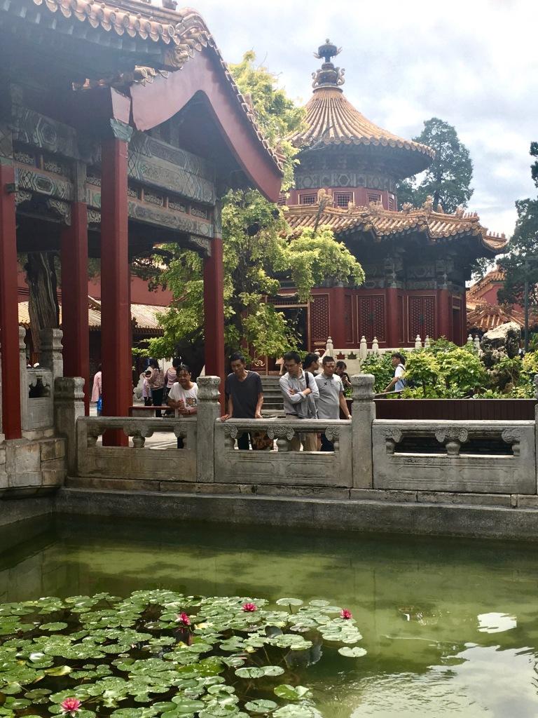 Garden in the Forbidden City.