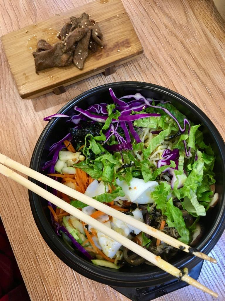 Korean food.