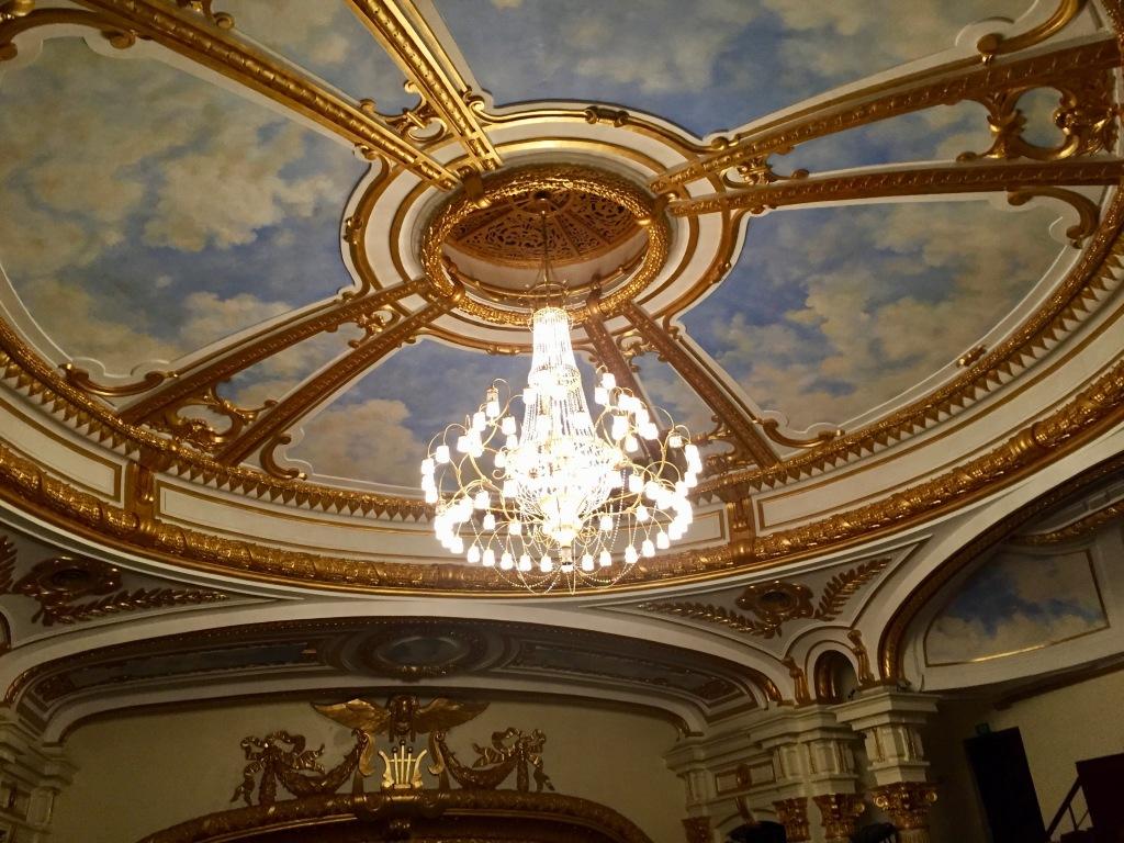 Hanoi Opera House chandelier.