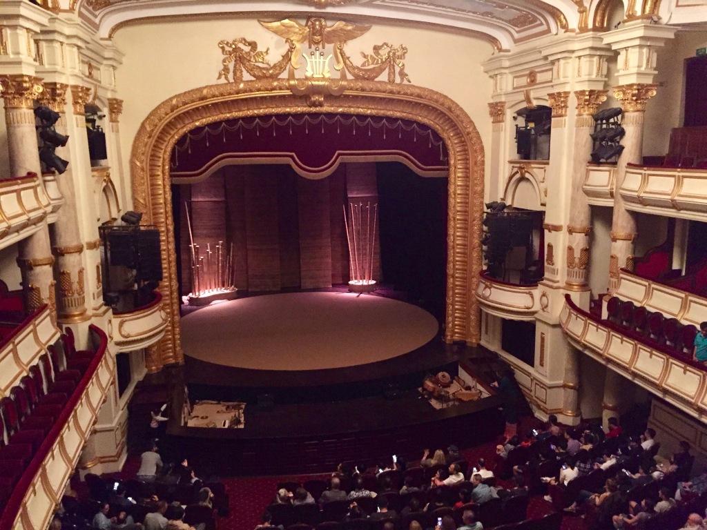 Hanoi Opera House stage.