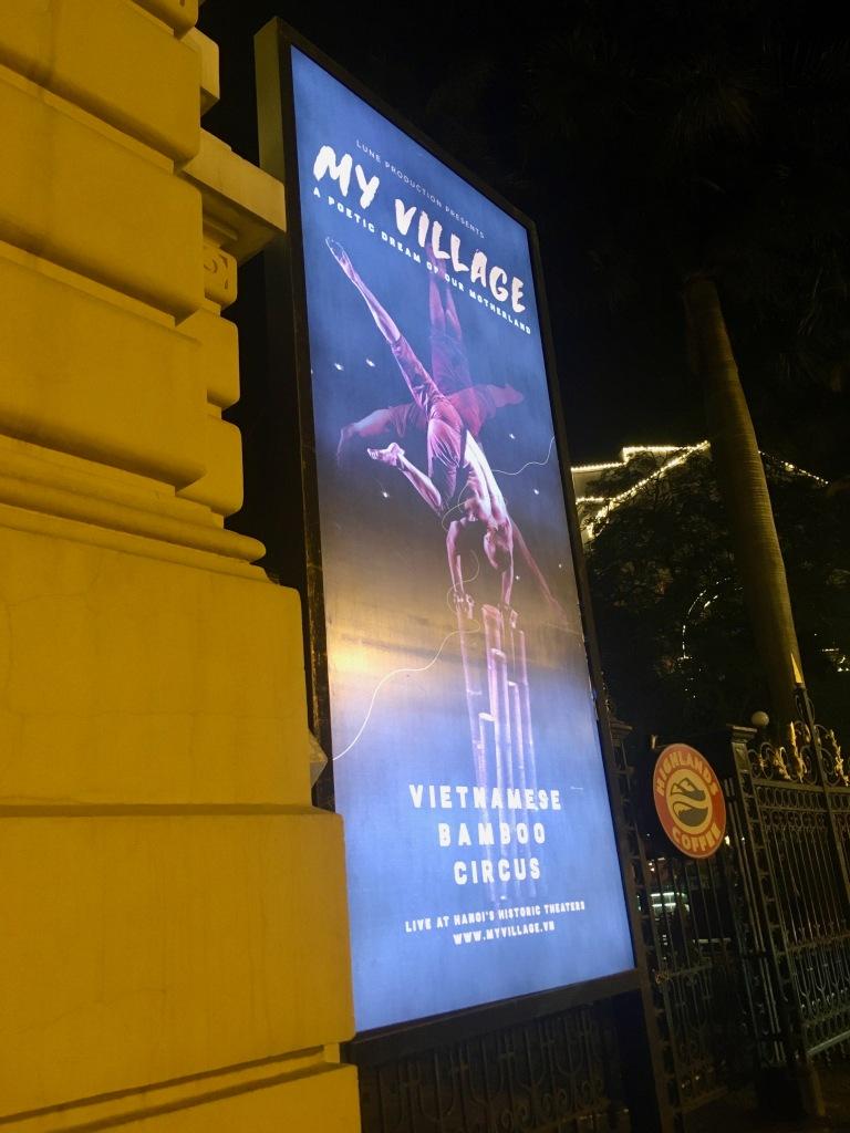 Vietnamese Bamboo Circus poster.